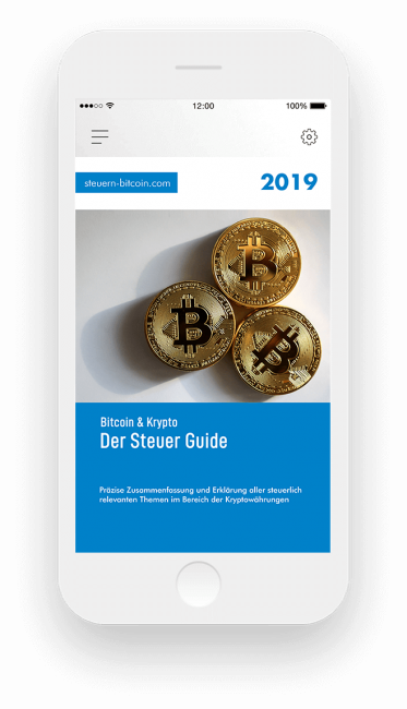 Krypto Steuer Guide 2019